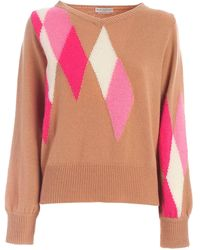 Ballantyne Diamond Inlay Pullover - Multicolor