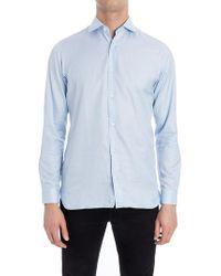 Z Zegna - Cotton Shirt - Lyst