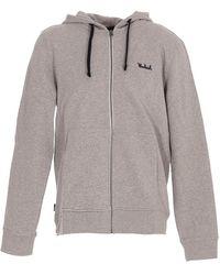 Woolrich Fz Hoodie - Grey