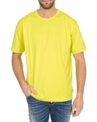 Acne Studios T-Shirt Classic-Fit Sharp Yellow - Giallo