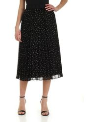 DKNY Pleats Skirt - Black