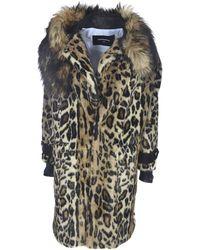 DSquared² Animalier Eco-fur - Multicolour