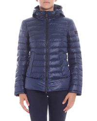 "Peuterey - ""utah"" Blue Down Jacket - Lyst"