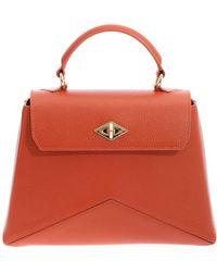 Ballantyne - Diamond Bag Small Orange - Lyst