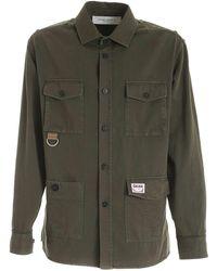 Golden Goose Deluxe Brand Achille Boxy Shirt - Green