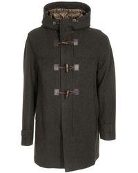 Herno Hooded Duffle Coat - Green