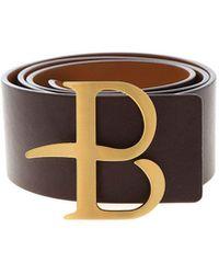 Ballantyne Monogram Buckle Belt - Brown
