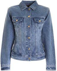 Michael Kors Pockets Denim Jacket - Blue