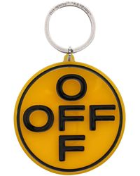 Blanc cassé Industriel Porte-clé keychain logo Bracelet Virgil Abloh Orange