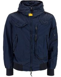 Parajumpers Reloaded Puffer Bomber Jacket - Blue