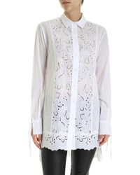 Ermanno Scervino Sangallo Long Fit Shirt - White