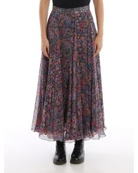 Zadig & Voltaire Joyo Long Skirt - Multicolour