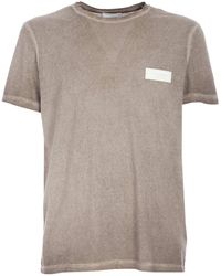 Dondup Logo Faded T-shirt - Brown