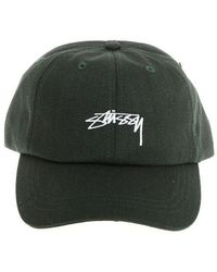 Stussy - Green Suiting Low Pro Cap - Lyst