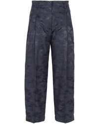 Aspesi - Jacquard Pants - Lyst