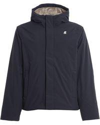 K-Way Ripstop Marmotta Jacket - Blue