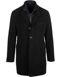 Fay Double Coat Easy - Blue