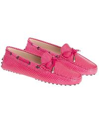 Tod's - Heaven Moccasins - Lyst