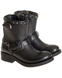 Ash - Leather Boots - Lyst