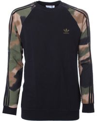 adidas Originals Camo Sweatshirt - Black