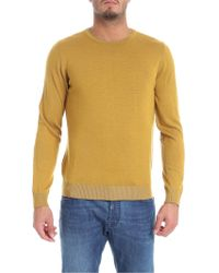 Jurta - Reversible Ocher And Taupe Pullover - Lyst