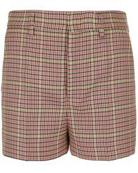 RED Valentino Houndstooth Shorts - Natural
