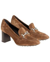 Tod's - Suede Shoes - Lyst