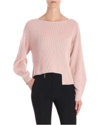 Pinko - Pink Calendula Sweater - Lyst