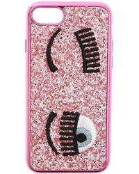 Chiara Ferragni Cover Flirting glitter rosa