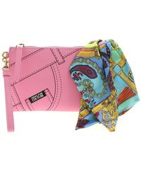 Versace Jeans Couture Foulard Clutch - Pink