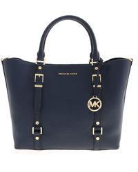 Michael Kors Bedford Legacy Bag - Blue