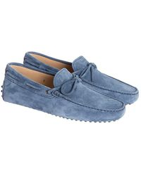 Tod's - Leather Moccasins - Lyst