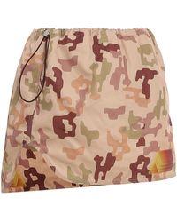 The Attico - Giana Camouflage Miniskirt - Lyst