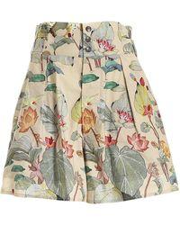 Etro - Floral Print Bermuda Shorts - Lyst