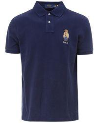 Polo Ralph Lauren Bear Polo Shirt - Blue