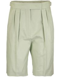 Max Mara Safari Bermuda Shorts - Green