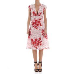 Ermanno Scervino - Floral Printed Dress - Lyst