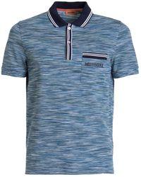 Missoni Cotton Polo - Blue