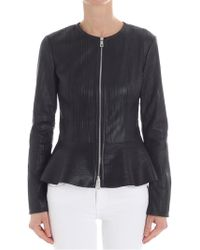 DESA NINETEENSEVENTYTWO - Black Leather Jacket - Lyst
