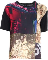 PS by Paul Smith T-Shirt Nera Stampata - Nero