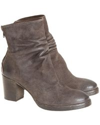 The Last Conspiracy - Kenna Waxed Suede Ankle Boots - Lyst