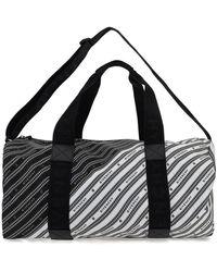 Givenchy Two-tone Tech Fabric Travel Bag - Black