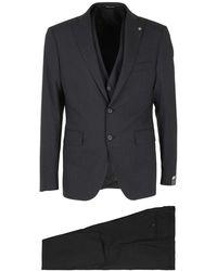 Tagliatore Virgin Wool Suit - Grey