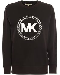Michael Kors Chain Logo Sweatshirt - Black