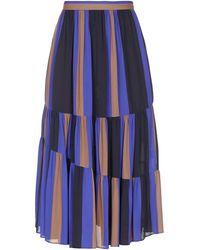 Jucca Crêpe-like Skirt - Blue