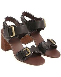 See By Chloé - Black Sandals - Lyst