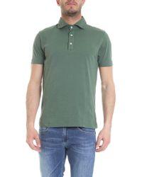 Drumohr - Green Cotton Polo Shirt - Lyst