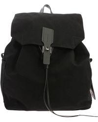 "Golden Goose Deluxe Brand ""military"" Black Backpack"