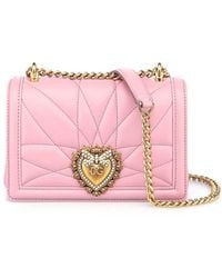Dolce & Gabbana - Devotion Small Bag - Lyst