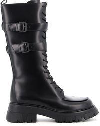 Ash Loft Boots - Black